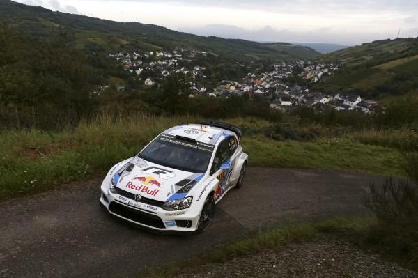 WRC 2014 ALLEMAGNE POLO VW Sébastien OGIER.