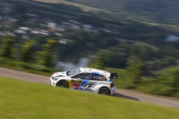 WRC 2014 ALLEMAGNE POLO VW de Jari Matti LATVALA.
