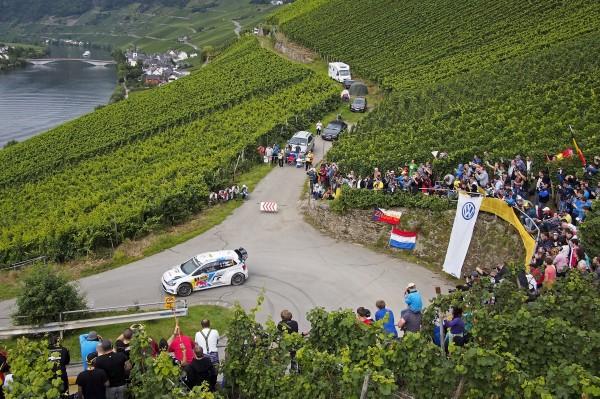 WRC 2014 ALLEMAGNE POLO VW de Seb OGIER.
