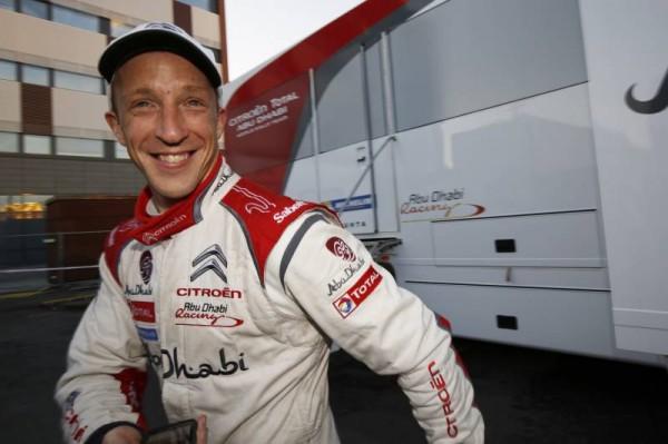 WRC 2014 FINLANDE - Kris MEEKE HEU-REUX de ce nouveau podium