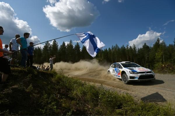 WRC 2014 FINLANDE- La POLO de Sébastien OGIER
