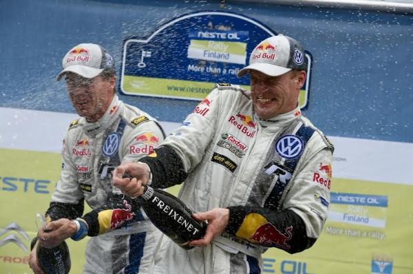 WRC 2014 FINLANDE- La POLO de LATVALA