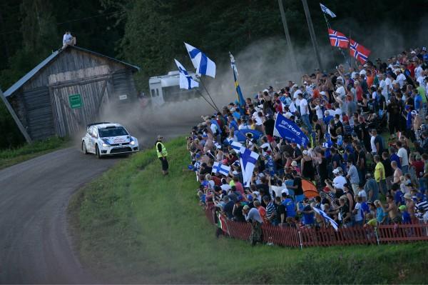 WRC 2014 FINLANDE - VW POLO de LATVALA