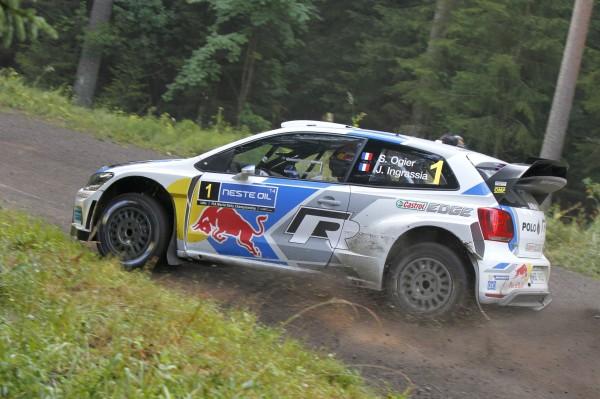 WRC 2014 FINLANDE VW POLO de OGIER.