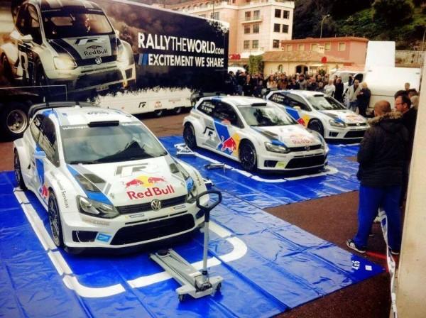 WRC-2014-MONTE-CARLO-Les-VW-POLO-avant-la-bataille
