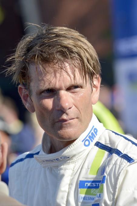 WRC 2014 - Marcus GRONHOLM  De RETOUR derriere un volant avec la VW POLO