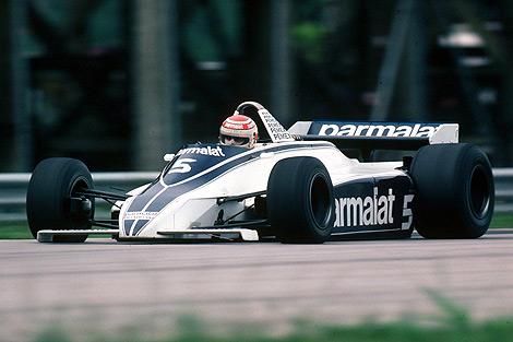 BRABHAM-Parmalat-Le-Brésilien-Nelson-Piquet-CHAMPION-du-monde-en-1981-photo-Bernard-BAKALIAN