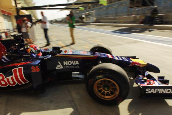 F1 2014 - GP Otalie à MONZA- La TORO ROSSO de- Daniil KVYAT utilise son 6éme moteur - Photo RED BULL
