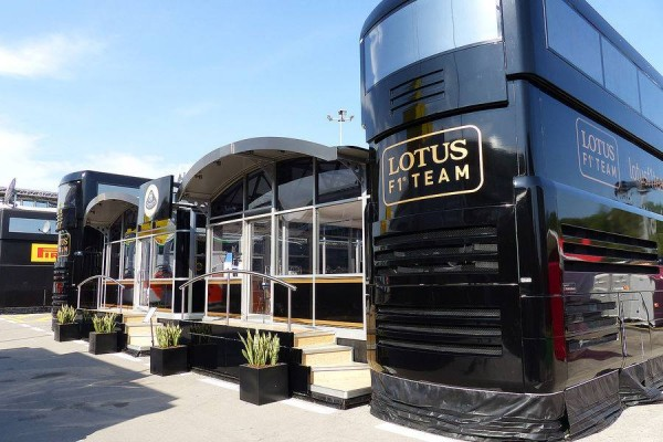 F1 2014  BARCELONE Structure LOTUS