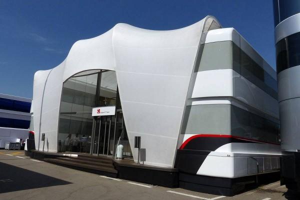 F1-2014-La Structure VIP -SAUBER