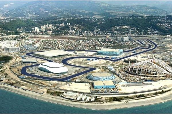 F1 2014  - Le CIRCUIT de SOTCHI où est prévu le 1er GP de l'histoire