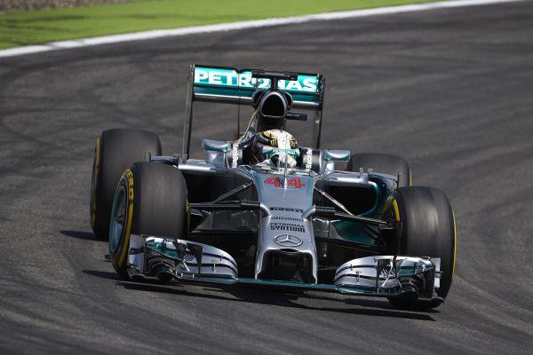 F1. 2014  MONZA  - La Mercedes de Lewis HAMILTON