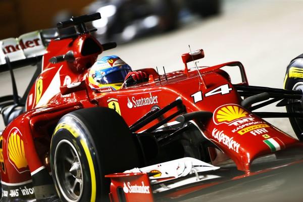 F1 2014 SINGAPOUR - FERNANDO ALONSO - FERRARI.