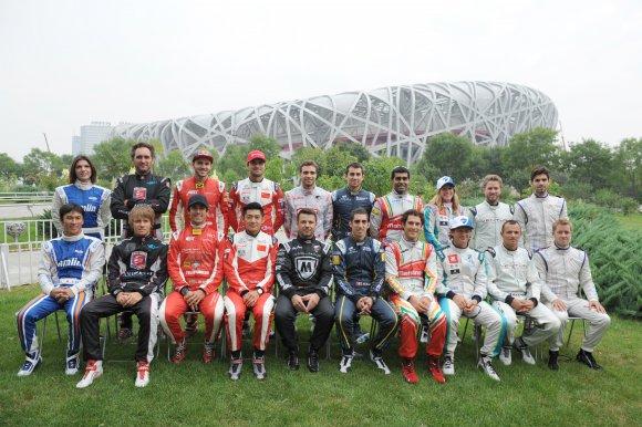 FORMULE E 2014 PEKIN - Les vingt pilotes de la saison 2014-2015