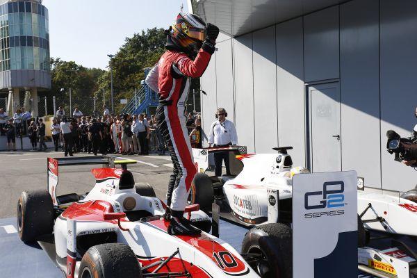 GP2 2014- MONZA - STOFFEL VANDOORNE du Team ART GP victorieux de la 1ére course