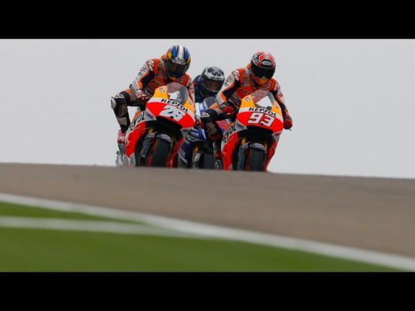 MOTO-GP-2014-MOTORRLAND-ARAGON-Le-26-Pedrosa-Le-93-Marquez-et-le-99-Lorenzo
