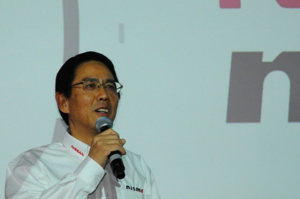 NISSAN-Londres-présentation-programme-Nissan-LMP1-Soichi-Miyatani-Président-de-Nismo-Photo-Patrick-Martinoli