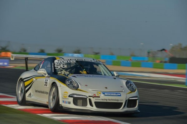 PORSCHE-CARRERA-CUP-2014-MAGNY-COURS-Tom-DILLMANN-Photo-Antoine-CAMBLOR