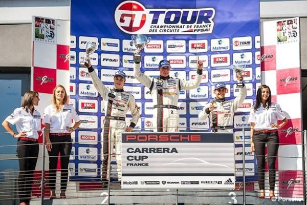 PORSCHE-CARRERA-CUP-2014-NOGARO-Le-podium.