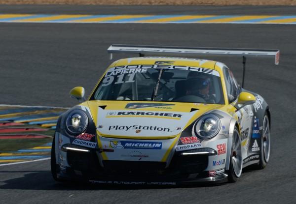 PORSCHE Cup 24 H du Mans Christophe LAPIERRE - Photo Antoine CAMBLOR