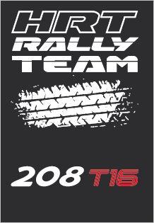 RALLYE - HIRSCHI Logo Team HRT