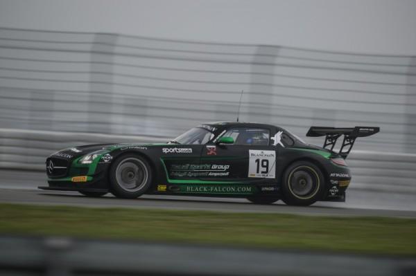TROPHEE BLANCPAIN 2014 - NURBURGRING- Al Faisal Haupt Simonsen Mercedes SLS AMG GT3 N° 19 BLACK FALCON