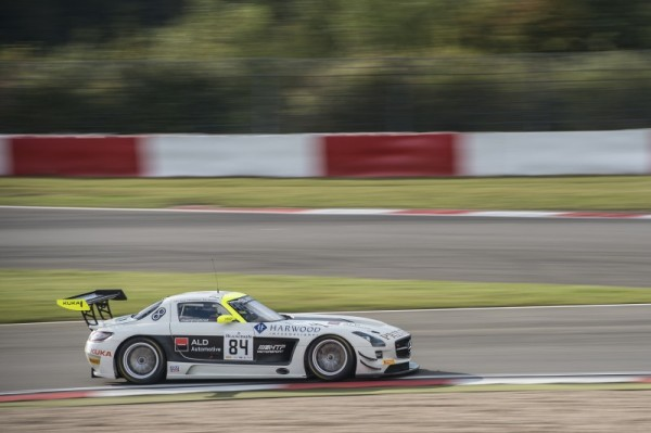 TROPHEE-BLANCPAIN-2014-NURBURGRING-Primat-–-Schneider-–-Verdonck-Mercedes-SLS-AMG-GT3-N°-84-HTP-MOTORSPORT