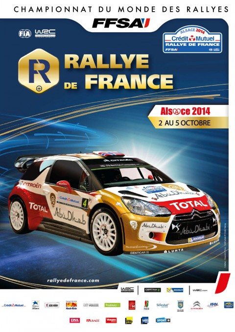 WRC 2014  ALSACE  Affiche