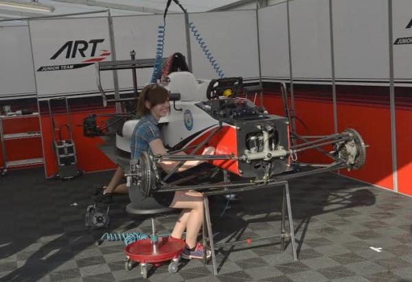 WSR 2014   PAUL RICARD  Ambiance avant les 1ers essais a
