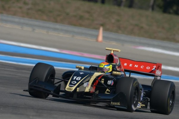WSR-2014-PAUL-RICARD-Mathieu-VAXIVIERE-Team-LOTUS-CHAROUZ-3éme-de-la1ére-course-Photo-Antoine-CAMBLOR.