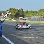 ELMS-2014-ESTORIL-Arrivee-victorieuse-de-l-ORECA-du-LOEB-Racing-de-la-course-des-4-Heures-ESTORIL-Photo-Max-MALKA
