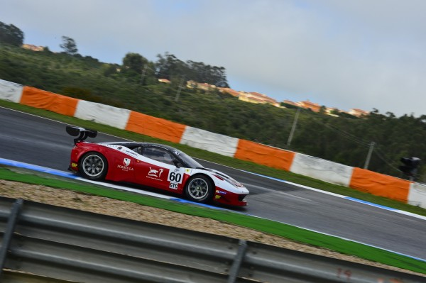 ELMS 2014 JEREZ - FERRARI F 458 N° 60 du Team Danois FORMULA Racing-Photo Max MALKA