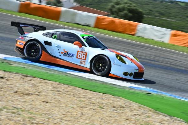 ELMS-2014-JEREZ-PORSCHE-911-RSR-GT3-du-Team-GULF-de-ADAM-CARROLL-WAINWRIGHT-BARKER-Photo-Max-MALKA-