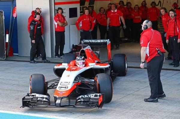 F1 2014 JEREZ la MARUSSIA 2014 l- Le retour en piste serait imminent !