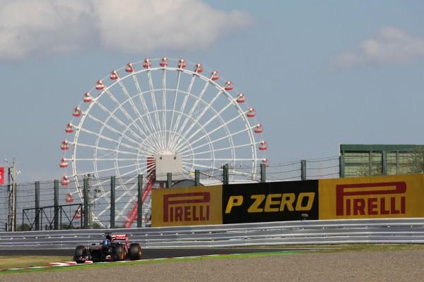F1 2014 SUZUKA avec la TORO ROSSO