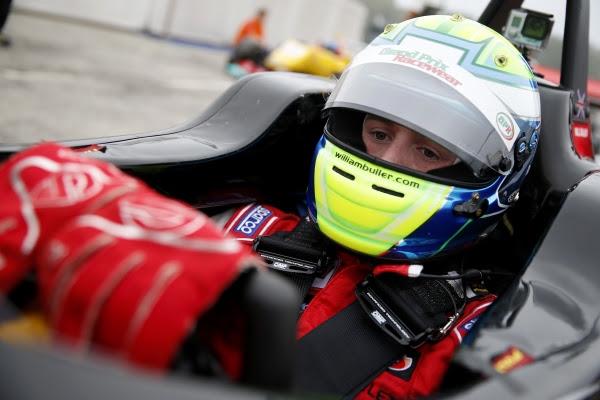 F3 2014 -IMOLA - William BULLER Team SIGNATURE