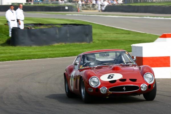 GOODWOOD REVIVAL 2014 - Lukas Hüni et Carlo Vogele - Ferrari 330 GTO 3996cc de 1963