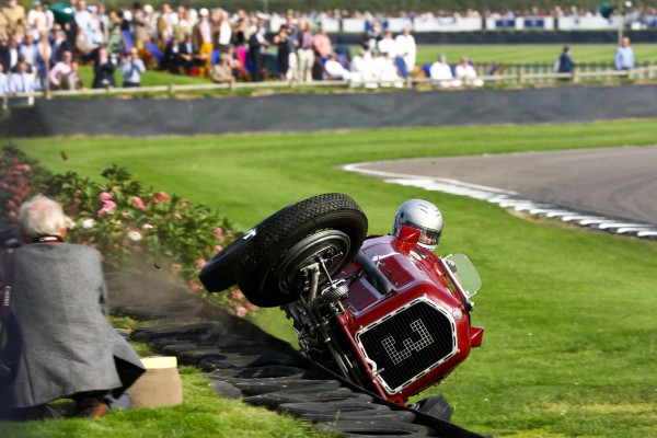 GOODWOOD REVIVAL 2014 - Oups -Waouh plus de peur...