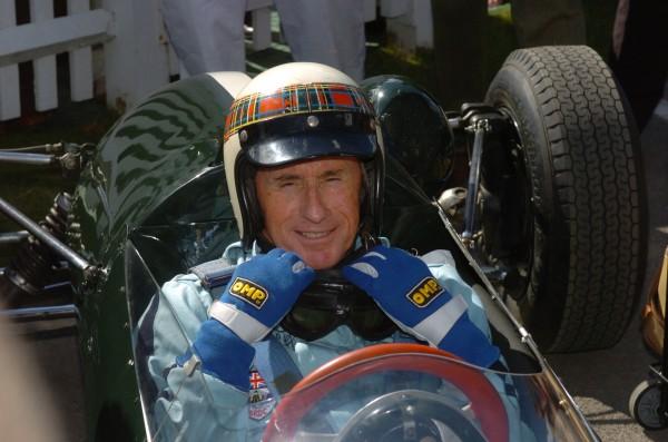 GOODWOOD REVIVAL 2014 - Sir Jackie Stewart Tout est d' époque