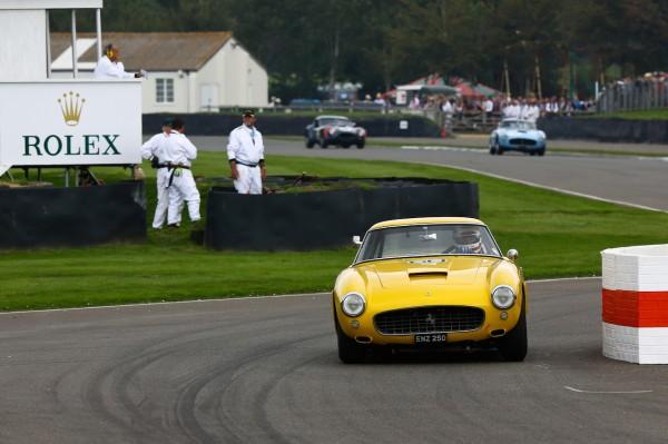 GOODWOOD REVIVAL Christian Horner et Jackie Oliver - Ferrari 250 GT SWBC 2999cc de 1960.