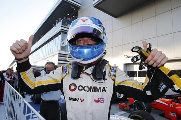 GP2 2014 SOTCHI - JOLYON PALMER Vainqueur et CHAMPION