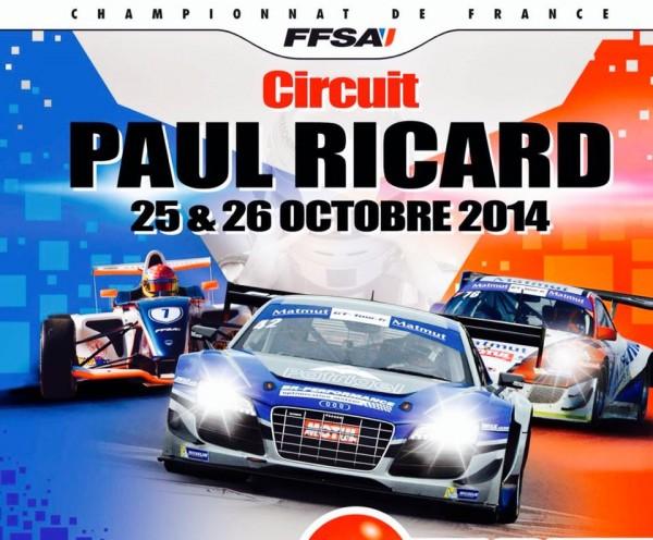 GT TOUR 2014   PAUL RICARD Affiche