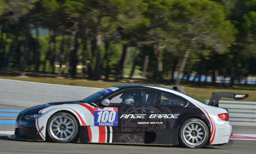 GT TOUR -2014 PAUL RICARD - BMW Supersport-N°100 -POUQUIE et BELLOC-Photos -Antoine CAMBLOR.