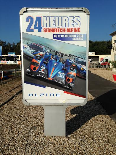 KARTING 24 HEURES SIGNATECH ALPINE  Affiche