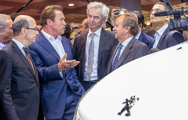 MONDIAL AUTO 2014 - Arnold Schwarzenegger.