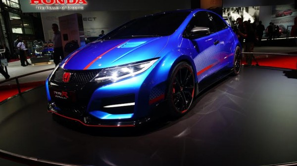 MONDIAL AUTO PARIS 2014 - HONDA CIVIC TYPE R.