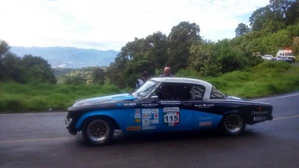PANAMERICAINE 2014- Hilaire DAMIRON au depart de la 1ére spéciale du jour