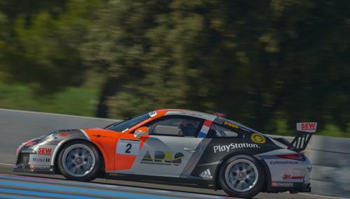 PORSCHE-CARRERA-CUP-2014-PAUL-RICARD-le-25-octobre-MAXIME-JOUSSE-Team-SEB-LOEB-Racing-Photo-Antoine-CAMBLOR