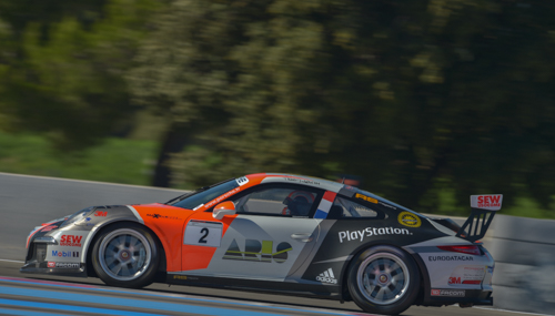 PORSCHE-CARRERA-CUP-2014-PAUL-RICARD-le-25-octobre-MAXIME-JOUSSE-Team-SEB-LOEB-Racing-Photo-Antoine-CAMBLOR