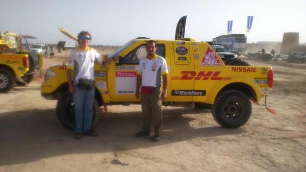 RALLYE-OILYBIA-DU-MAROC-2014-L-équipage-Colombien-Juan-LINARES-et-Daniel-PEREIRA-Photo-CAPARROS
